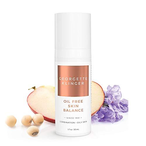 Georgette Klinger Oil Free Skin Balance - Natural Light Gel Hydrates, Rejuvenates, Balances Combination & Oily Skin, Smoothes Fine Lines