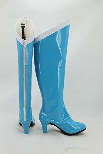 Bromeo Sailor Moon Sailor Mercury Ami Mizuno Cosplay Schuhe Stiefel Stiefeletten