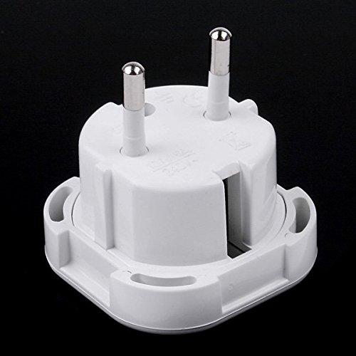 EverTrust(TM)UK to EU AC Power Plug Travel Adapter Socket Converter 10A/16A 240V 10pcs/lot by EverTrust