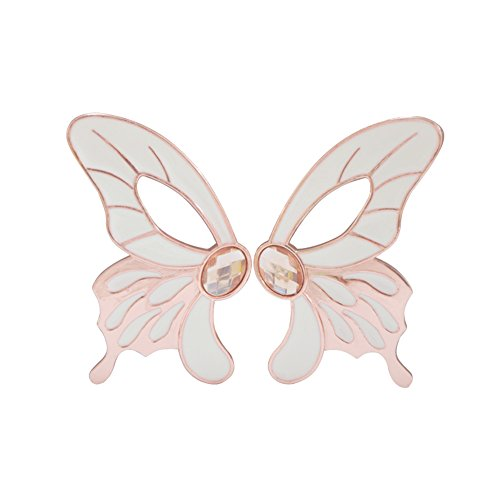 (Whale GoGo Pack of 2 Creative Butterfly Shape Wardrobe Dresser Closet Pulls Door)
