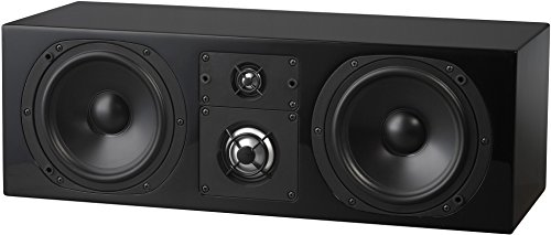 NHT C Series C-LCR 3-Way Center Channel Speaker, High Gloss Black