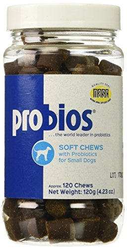 Probios Soft Dog Chews for Small Dogs, 120gm/120count