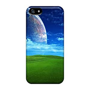Awesome Design Grassy Field Hard Case Cover For Iphone 5/5s