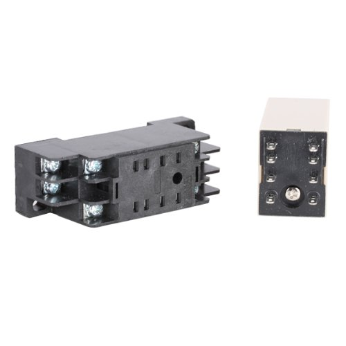 H3Y-2 DC 12V Delay Timer Time Relay 0-5 Minute
