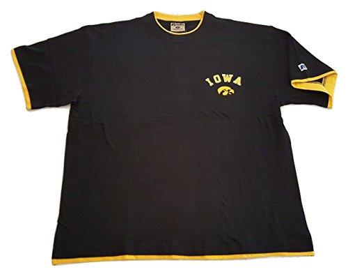 (Iowa Hawkweyes T-shirt Big and Tall Russell Athletic Pro Cotton Tee (3X))