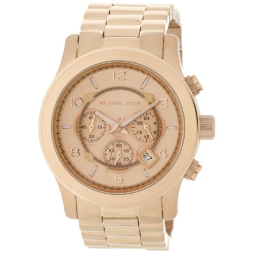 Wall Dunhill (Amazing Price for Michael Kors Men's Rose Gold Watch Gift for Women)