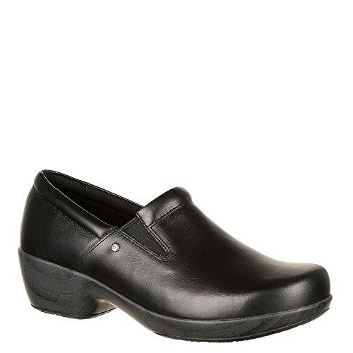 4EurSole RKH218 Women's Comfort 4ever Slip-on Shoe Black