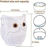 KeyEntre Owl Shape Smart Home Guard Owl Statue
