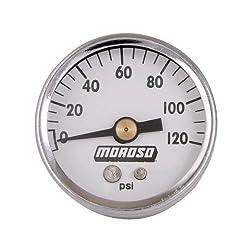 "Moroso 89611 1-12"" 0-120psi Oil Pressure Gauge"