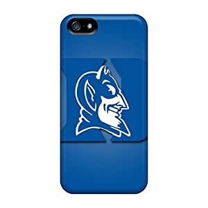 Premium Tpu Duke Blue Devils Cover Skin For Iphone 5/5s by icecream design