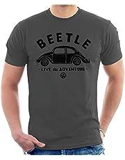 Volkswagen Beetle Black Live The Adventure T-shirt voor heren
