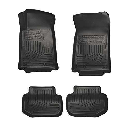 Husky Liners Front & 2nd Seat Floor Liners Fits 11-15 Camaro