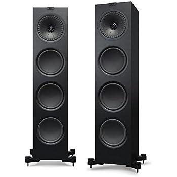 kef tower speakers. kef q950 floorstanding speaker (each, black) kef tower speakers t