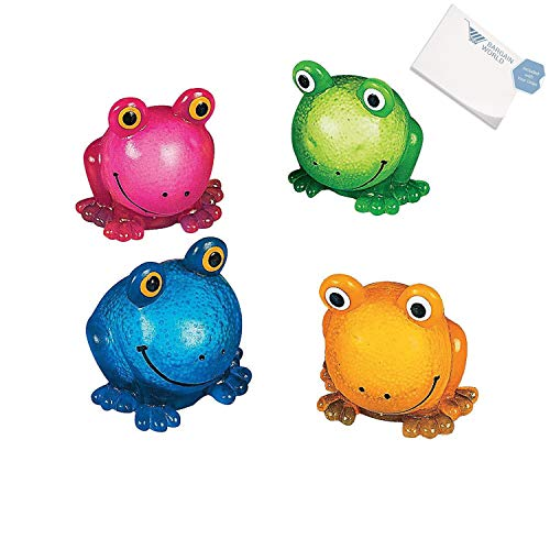 Bargain世界ビニールSqueezable Sticky Frogs (with付箋) 12 Dozen (144 pieces) B4963733158539Wの商品画像