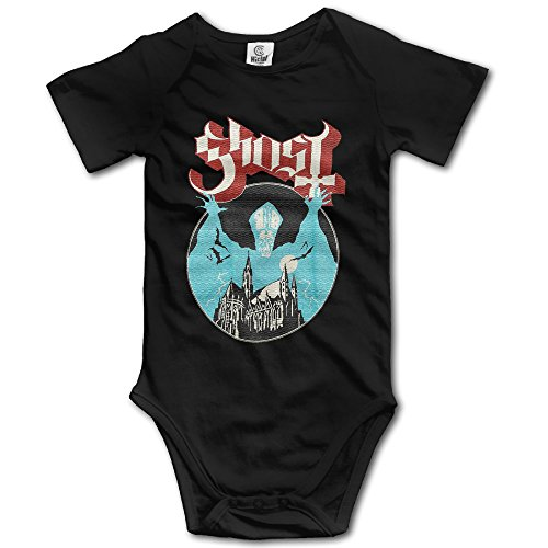 Ghost B.C.rock Band Opus Baby Onesie Bodysuit