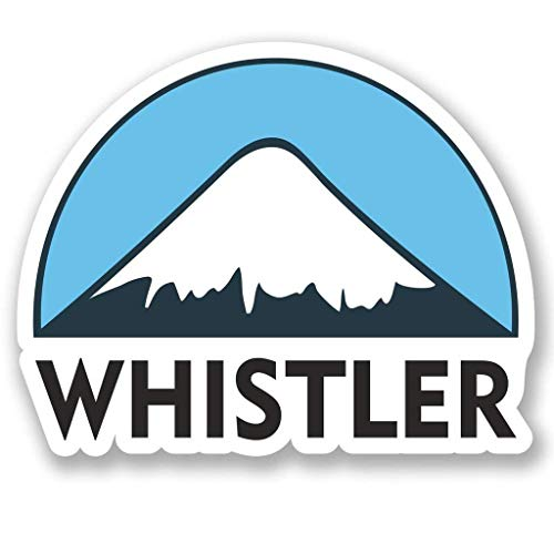 - Whistler Ski Snowboard Vinyl Sticker Decal Laptop Car Bumper Sticker Travel Luggage Car iPad Sign Fun 5
