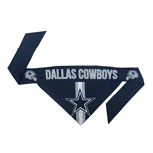 NFL Dallas Cowboys Team Dog Bandana, XL, Blue