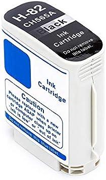 Cartucho de Tinta HP 82 Negro Compatible Con HP DesignJet 510 DesignJet 111-82-CH565A 69 ml: Amazon.es: Electrónica
