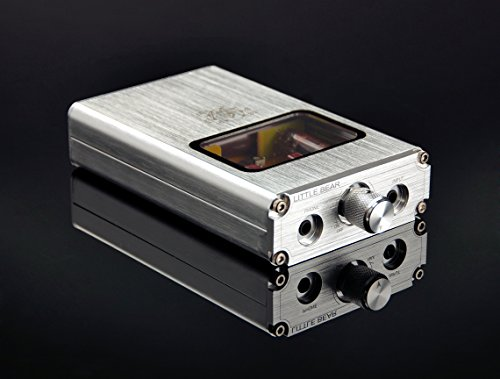 Little Bear B4 Portable Vacuum&Valve Tube Headphone Amplifier Stereo Hi-Fi Amp built-in battery