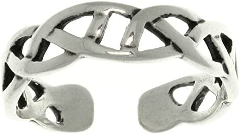 Three Rings in Set Jewelry Trends Sterling Silver Classic Celtic Toe Ring Set