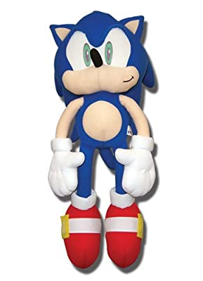 Ge Animation Sonic The Hedgehog 20 Sonic Plush from Japan VideoGames