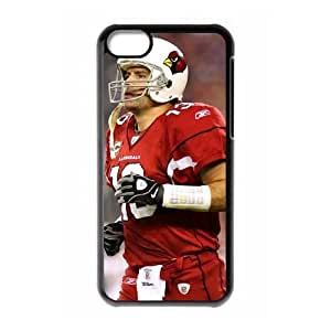 NFL iPhone 5c Black Cell Phone Case Arizona Cardinals PNXTWKHD0696 NFL Hard Phone Case Covers