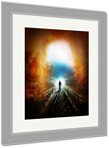 Ashley Framed Prints Life After Death, Wall Art Home Decoration, Color, 40x34 (frame size), Silver Frame, AG5842189 by Ashley Framed Prints