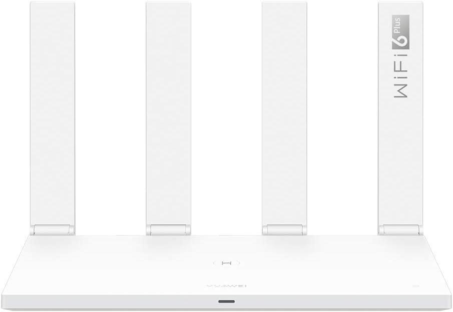 HUAWEI WiFi AX3 - Router Quad-coreWiFi 6 Plus Revolution 3000 Mbps, Tecnología OFDMA multiusuario, hasta 128 dispositivos en doble banda, Huawei Share, Huawei HomeSec, Color Blanco
