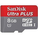 サンディスク microSDHCメモリーカード 8GB Class10 UHS-IUltra PLUS SDSDQUPN-008G-J35A