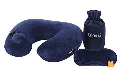 Automatic inflatable travel pillow - 7