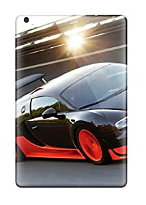 Flexible Tpu Back Case Cover For Ipad Mini/mini 2 - Bugatti Veyron Ss 2010