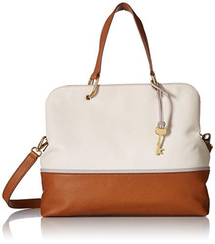 Fossil Lane Satchel Handbag, Neutral Multi by Fossil