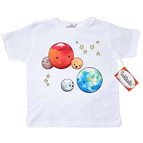 inktastic-little-boys-planetary-playdate-cute-earth-mars-and-moons-toddler-t-shirt-5-6-white