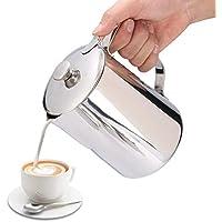 Taza de Café de Acero Inoxidable con Tapa