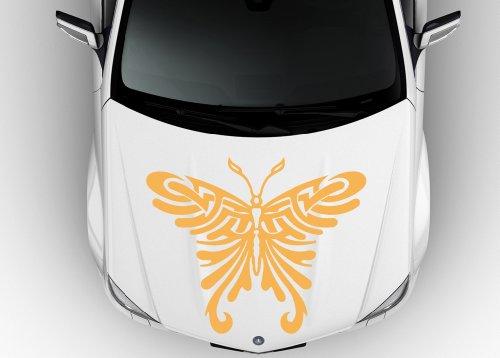 Car Hood Vinyl Sticker Decal Graphics Stylish Butterfly D1078
