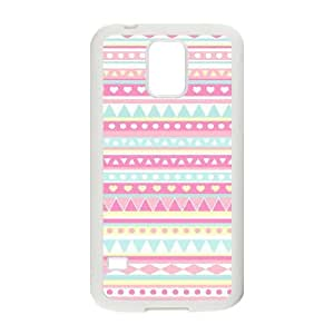 Samsung Galaxy S5 Cell Phone Case White Anchor Pattern 006 HIV6755169513710
