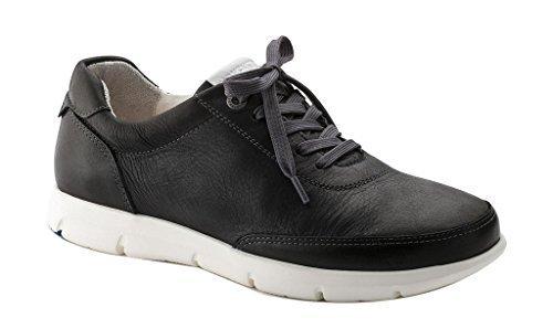 Birkenstock Womens Manitoba Sneaker Black Size 37 EU (6-6.5 M US Women)