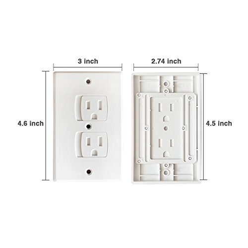 Baby Commander 6 Pack Universal Electrical Outlet Covers  500 x 500 jpeg 41nLl7wOeUL.01_SL500_.jpg