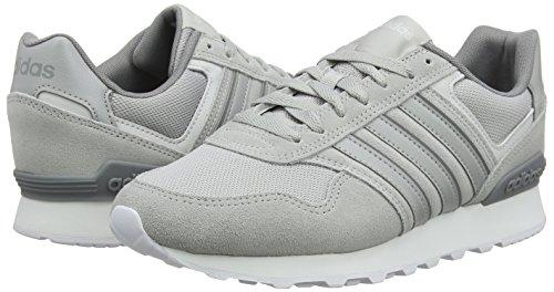 Chaussures 0k Gymnastique Gris Runeo Homme Trois gris F17 Pour De Adidas F17 Deux pUBOBW