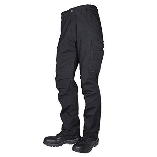 TRU-SPEC Men's Pants, 24-7 Guardian Tactical P/C R/S, Black, W: 34