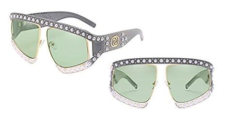 TL-Sunglasses Oversized Occhiali da sole donne Gradient Occhiali da sole donne sole sfumature di protezione UV G139,C12