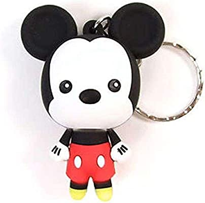 Llavero Disney Mickey Mouse Monogram Goma 7 cm Serie 1 ...