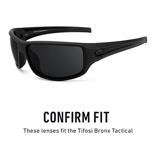 Polarizados Elite múltiples para Titanio Lentes Opciones de Tactical repuesto — Tifosi Bronx Mirrorshield HxTS4zqR