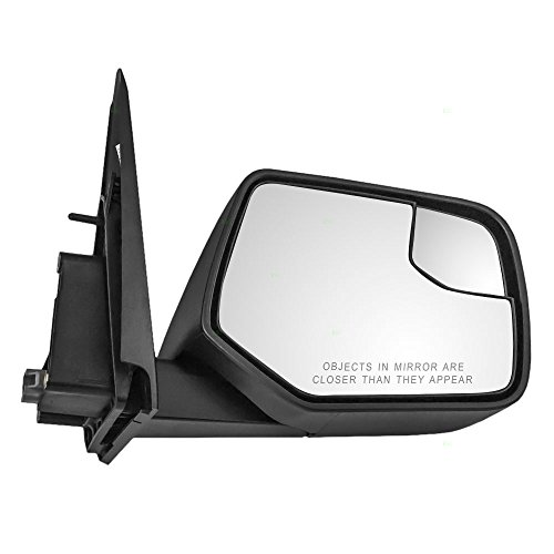 - Passengers Power Side View Mirror with Blind Spot Glass Textured Replacement for Ford Mercury SUV AL8Z-17682-AA