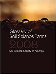 Glossary of soil science terms 2008 soil science glossary for Soil dictionary