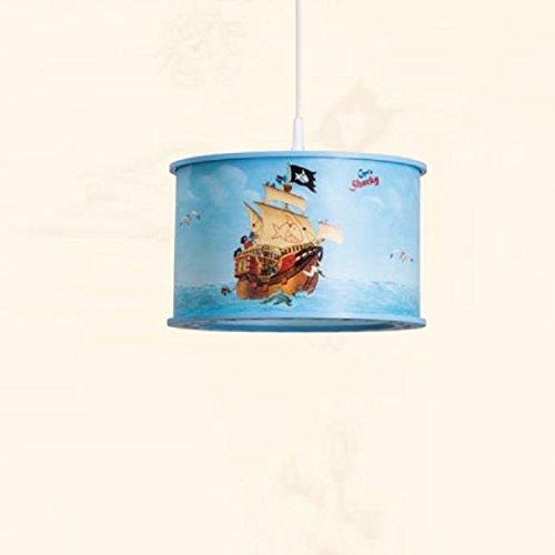 Kinder-Pendelleuchte Capt'n Sharky © auf hoher See 1-flammig