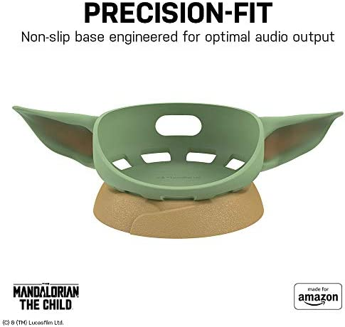 All New, Made for Amazon, that includes The Mandalorian: The Child, Stand for Amazon Echo Dot (third Gen)
