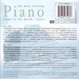 most relaxing piano album in the world ever import it all. Black Bedroom Furniture Sets. Home Design Ideas