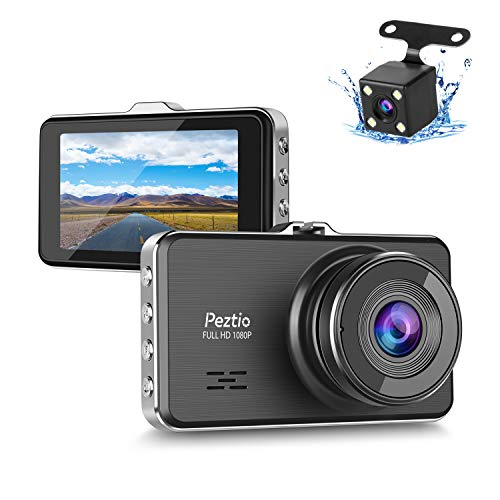 Dual Dash Cam Front and Rear, 1080P Full HD Car DVR Dashboard Camera...