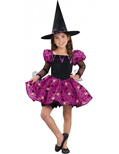 Moonlight Magic Witch Child Costume - - Optic Pretty Fiber Witch